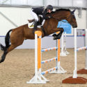 Ayr's Lucinda Stewart and Glow DK unbeatable at the Scottish National Equestrian Centre