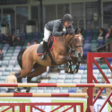 Alister Hippisley-Gatherum takes top spot in the SEIB Winter Novice Qualifier at Northcote Stud